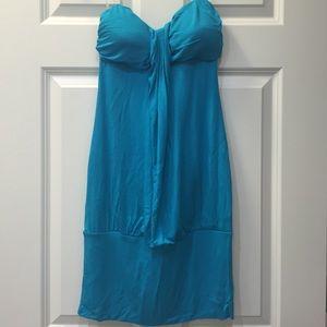 Ariella Dresses & Skirts - Blue strapless dress