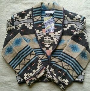 Flashback Jackets & Coats - Southwest Style Woven Bolero Jacket