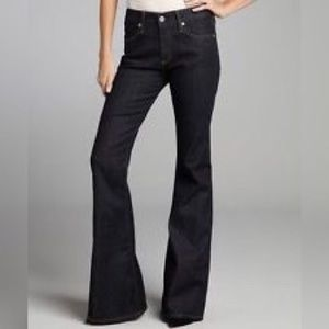 AG Adriano Goldschmied Denim - AG Adriano Goldshmied The Mona Wide Leg Jeans, 26