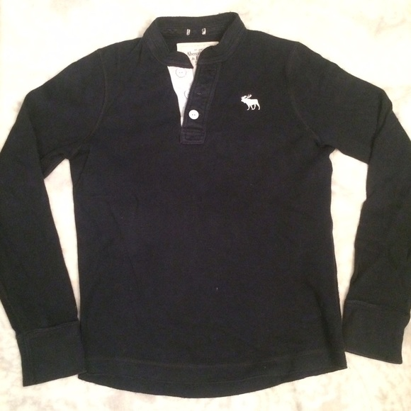 072182e7 Abercrombie & Fitch Sweaters | Af Mens Button Up Sweater | Poshmark