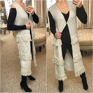 Jackets & Blazers - Boho Chic Fringe Duster Vest