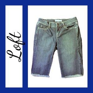 LOFT Pants - ⭐️ Denim Bermuda Shorts from Loft