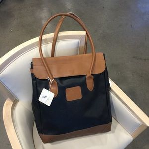 Lewis & Hyde Men's Leather Large Tote Bag