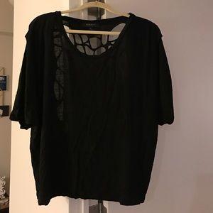 Blaque Market Tops - Black shirt