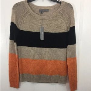 360 Cashmere multi color sweater!