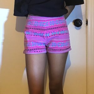 Bullhead High-Rise Short Shorts