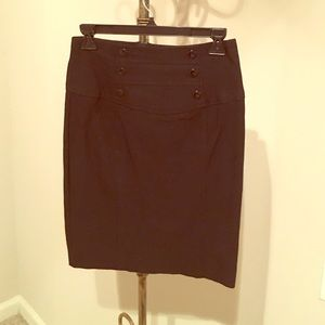 Amy Byer Dresses & Skirts - Stretchy black pencil skirt, sz 3