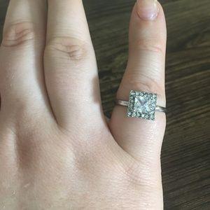 10/$20  Rhinestone Cubic Zirconia Adjustable Ring