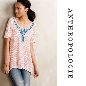 Anthropologie Holding Horses red tunic