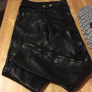 Gucci Pants - Gucci leather pants