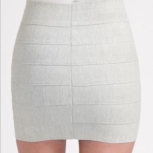 Pleasure Doing Business Dresses & Skirts - Pleasure Doing Business Light Tan Bandage Skirt