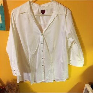 212 collection Tops - White blouse