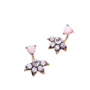 Stella & Dot Jewelry - 💎3 LEFT💎 Pink Crystal Spike Ear Jacket Stud