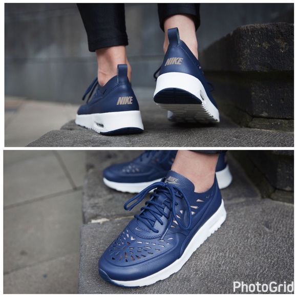 sports shoes 61f47 b039e NWOT Nike Air Max Thea Joli Navy Blue ⭐️FIRM⭐ . M 5884002fc284563e390c80fe