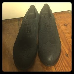 Fratelli Rossetti Other - Fratelli Rossetti black suede men shoes NWT