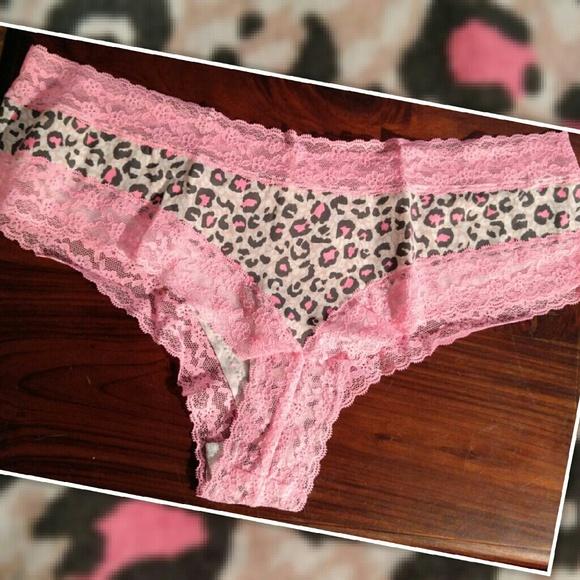 2e83b91a59 Victoria s Secret CHEETAH CHEEKY LACE PANTIES XL. M 58840275c6c79554070c7d72