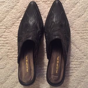 Roper Shoes - Roper mules size 8