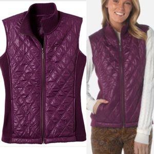 Prana Jackets & Blazers - NWT prana diva vest water resistant grapevine xs