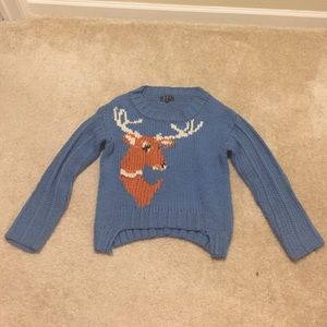POL Sweaters - Knit Sweater with antelope