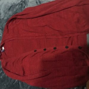 Other - Red cardigan M