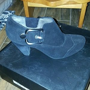 Madison  Shoes - Madison Billy black suede ankle boots