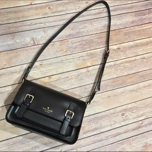 kate spade Handbags - 🎉 {Kate Spade} essex scout leather flap crossbody