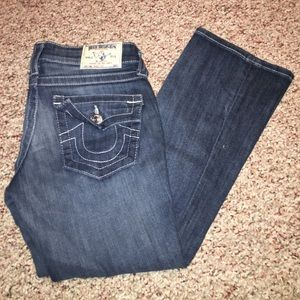 Denim - True Religion Boot Cut Jeans