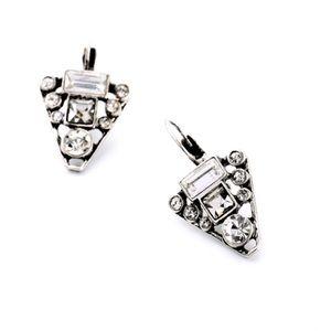 Stella & Dot Jewelry - 💎LAST PAIR💎 Crystal Triangle Diamond EarringSexy