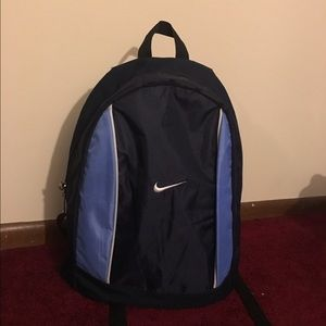Nike navy blue backpack