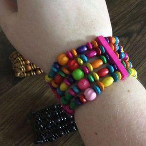 10/$20 Jewelry SALE -  Beaded Stretch Bracelet