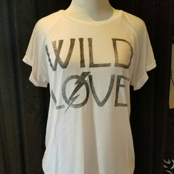 Word of Mouth Tops - Wild Love tee