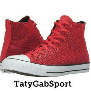 Converse Other - Converse Chuck Taylor All Star Kurim Hi  Red