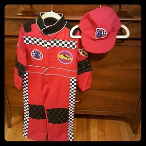 Other - Race Car Driver costume, size 5/6