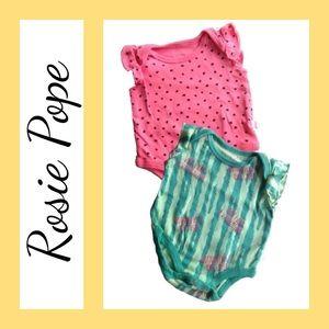 Rosie Pope Other - ⭐️ NWOT 2-Piece Melon Onesie Set from Rosie Pope