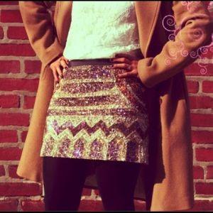 Club Monaco Dresses & Skirts - Club Monaco Sequin Mini Skirt
