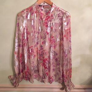 Thomas Pink Tops - Thomas pink luxury blouse silk
