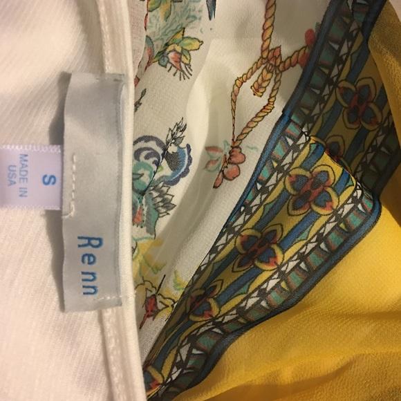 Renn Dresses - Floral Dress by Renn sz Small sleeveless Flowing