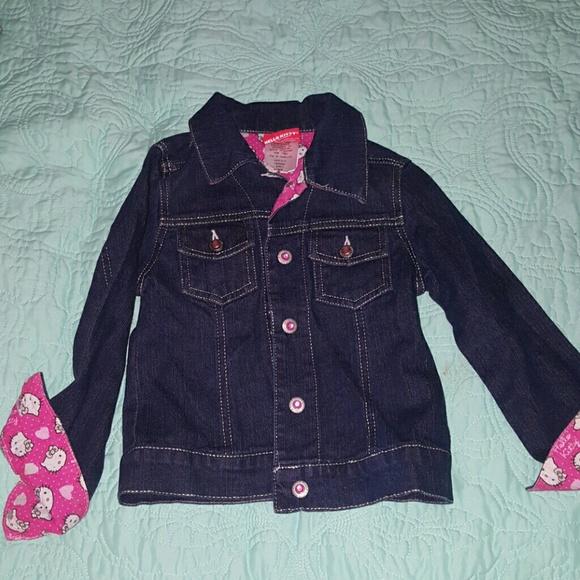4ff9da65a Hello Kitty Jackets & Coats | New Jean Jacket | Poshmark