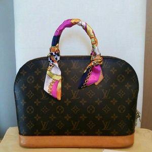 ComingSoon!Authentic Louis Vuitton Alma Pm Satchel