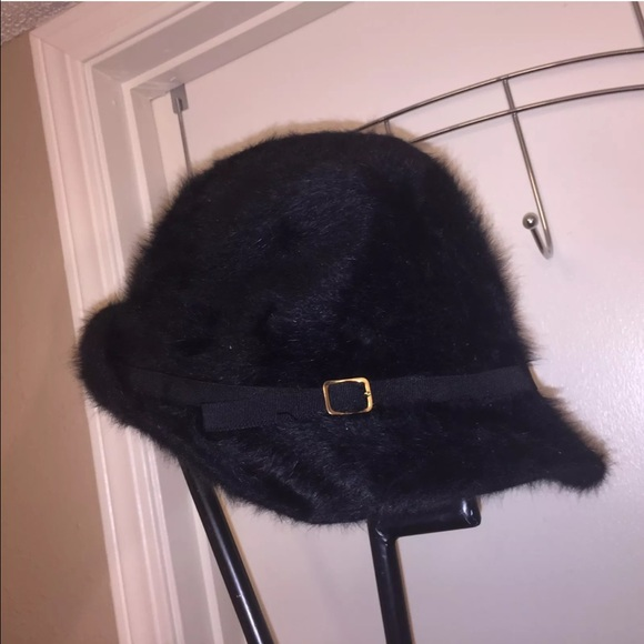 0d5350211cf Kangol Accessories - Vintage black KANGOL Furgora Linda Rabbit Hat