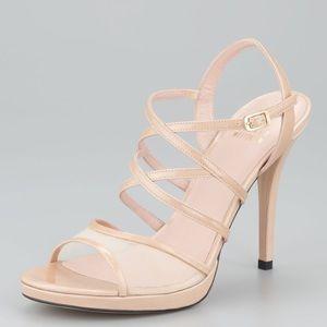 Stuart Weitzman Shoes - Stuart Weitzman Yeah Mesh detail strappy sandal 10
