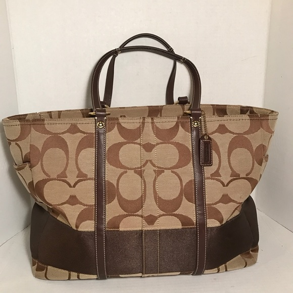 517b4529 Coach extra large tote bag