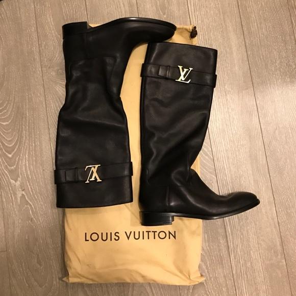 Louis Vuitton Legacy Tall Riding Boot