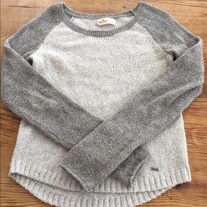 "Hollister Sweaters - Hollister ""baseball tee"" sweater"