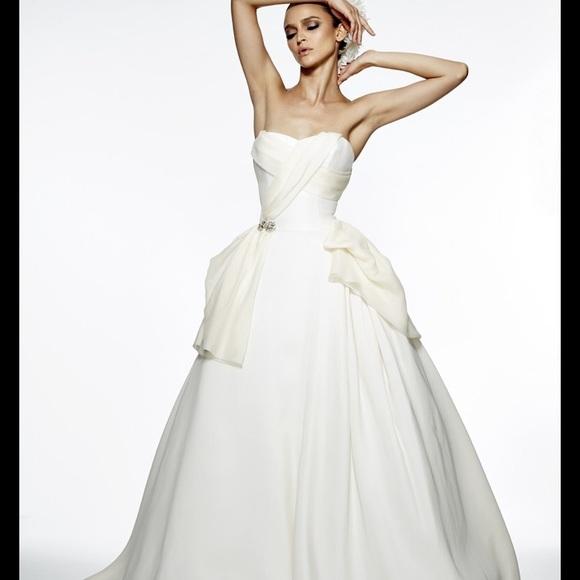 Edgardo Bonilla Dresses | Used Sweet Rose Wedding Gown | Poshmark