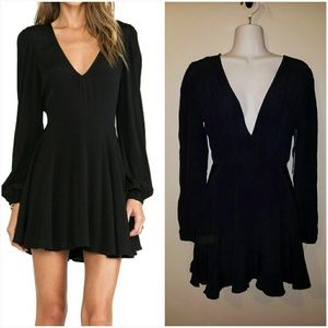 Lovers + Friends Black Dress