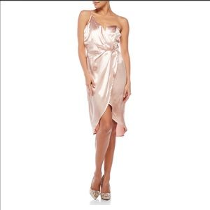 Mustard Seed Dresses & Skirts - MUSTARD SEED One-Shoulder Satin Dress