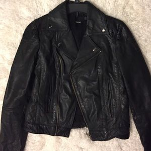 Asos leather moto jacket