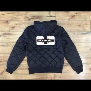 4f05d71f2e3 Supreme Jackets & Coats - Supreme X Independent Fuck The Rest Quilted Jacket