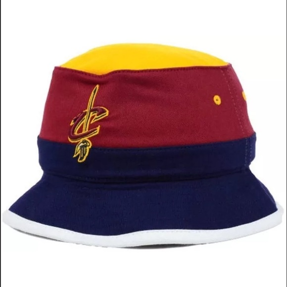 Cleveland cavaliers Mitchell ness bucket hat Cavs 9f517af3d50